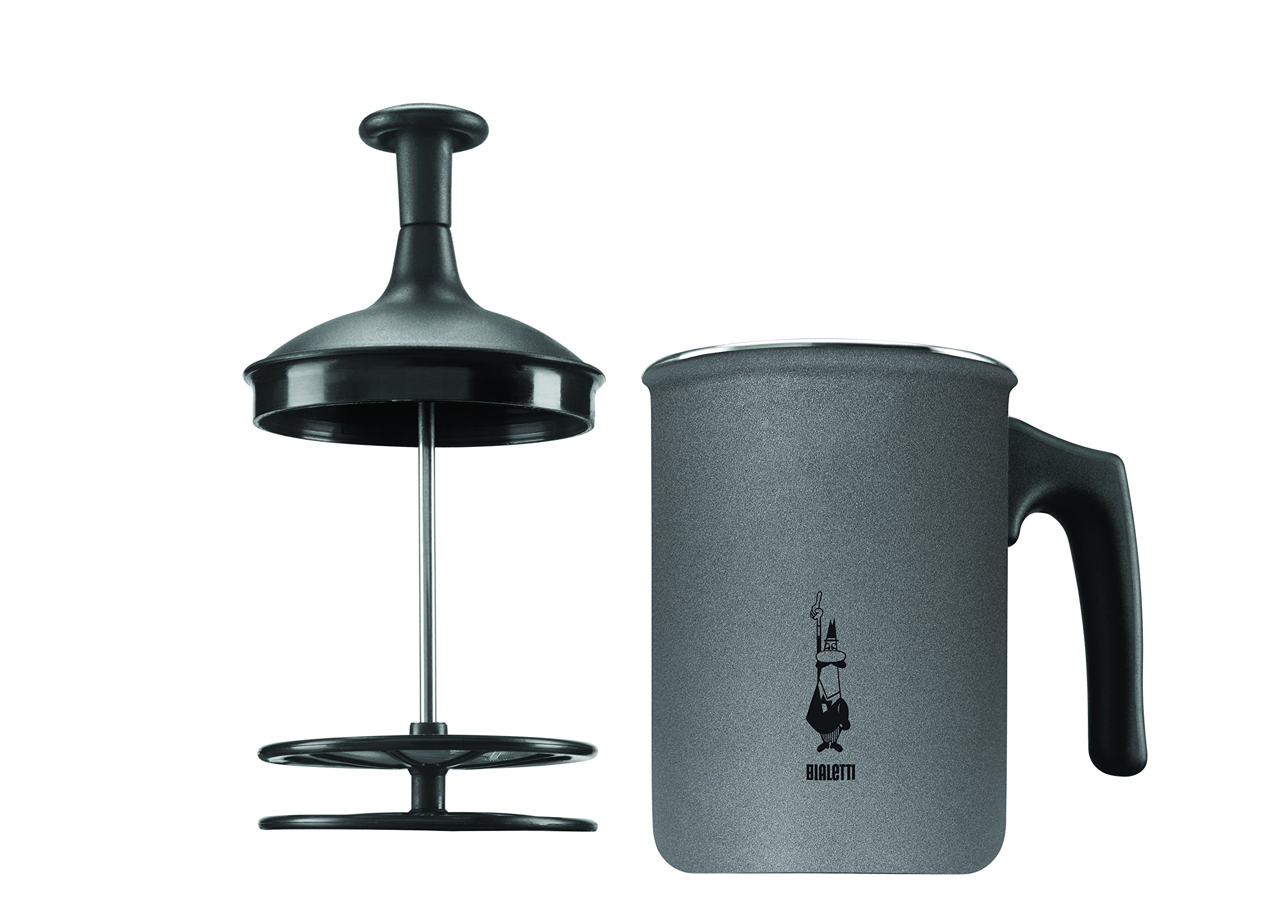 La Cafetiere Bialetti Tuttocrema Frothing Jug, Teflon Non Stick Surface and Double Filter For Extra Frothy Milk