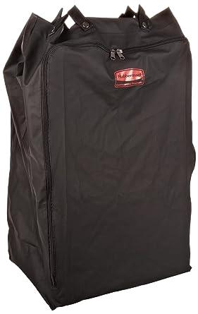 Rubbermaid FG635000BlA - Bolsa para ropa sucia, tela, negro ...