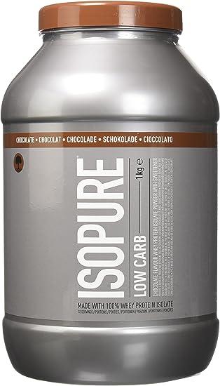 Isopure Whey Bajo Carbohidratos y Bajo Azúcar, Chocolate - 1000 g