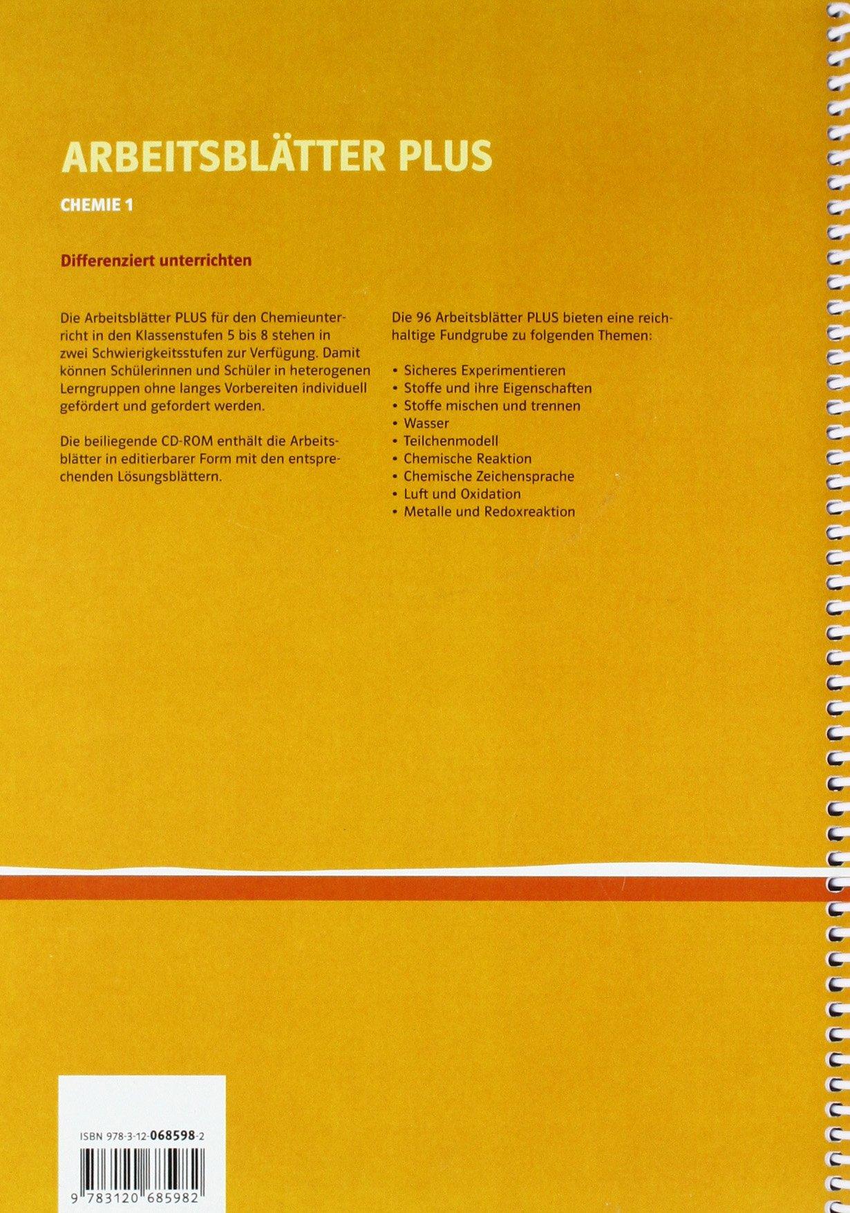 Arbeitsblätter PLUS Chemie 1: Differenzierend unterrichten 5.-8 ...