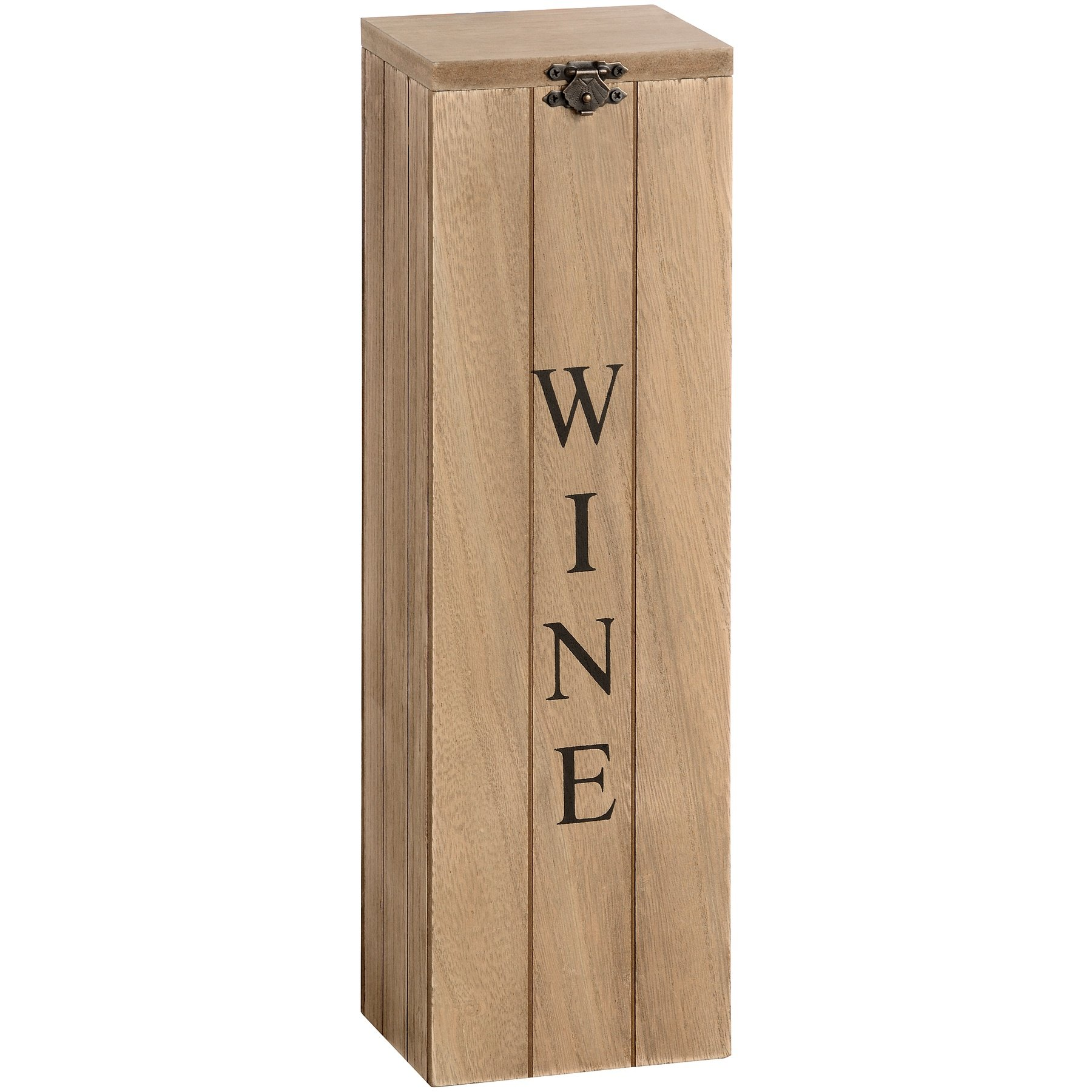 Hill Interiors Wooden Wine Box (One Size) (Brown)
