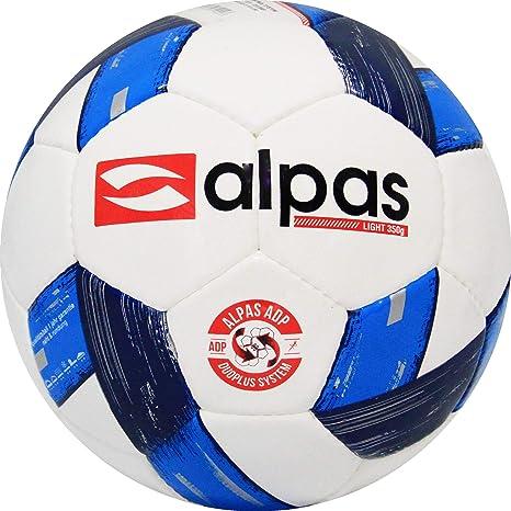 Alpas - Balones de fútbol y red para balones (10 unidades, tamaño ...