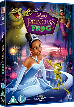The Princess And The Frog Dvd Amazon Co Uk Anika Noni Rose
