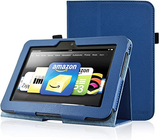 Amazon Com Acdream Kindle Fire Hd 7 2012 Version Case Amazon Kindle Fire Hd7 2012 Previous Model Case Pu Leather Cover Case For Kindle Fire Hd 7 2012 Version With Auto Sleep Wake