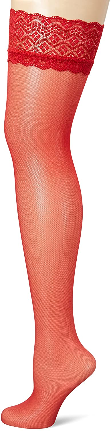 Fiore Women's Celia/Sensual Hold-up Stockings, 30 DEN O4005