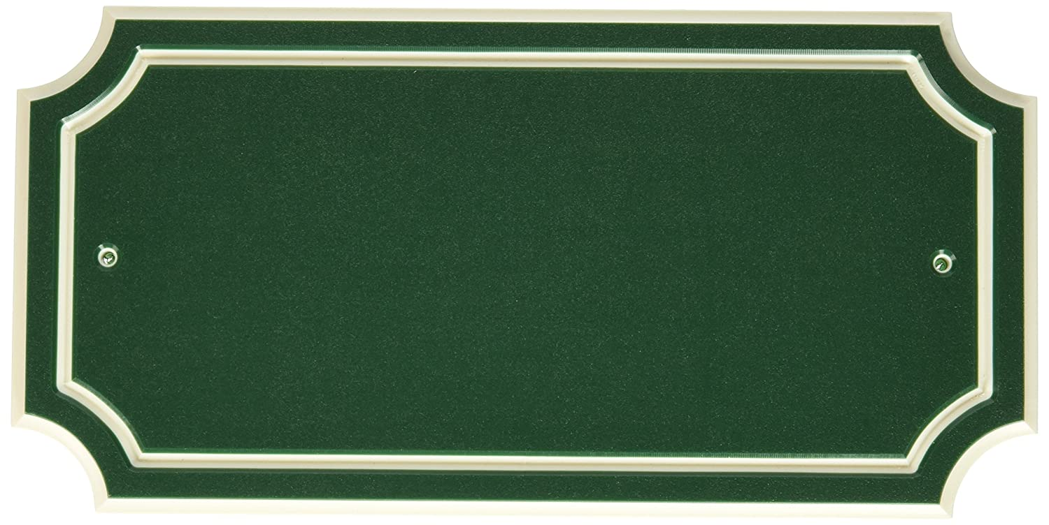 Distinction 848895 Address Plaque, Green The Hillman Group