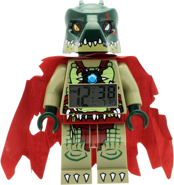 LEGO Kids' 9000577 Legends of Chima Cragger Mini-Figure Light Up Alarm Clock
