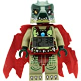 LEGO Kids' 9000577 Legends of Chima Cragger Mini-Figure Light Up Alarm Clock