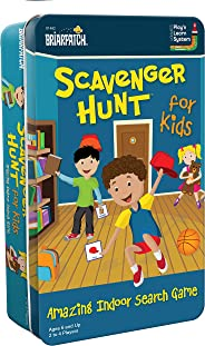 Scavenger Hunt for Kids Tin