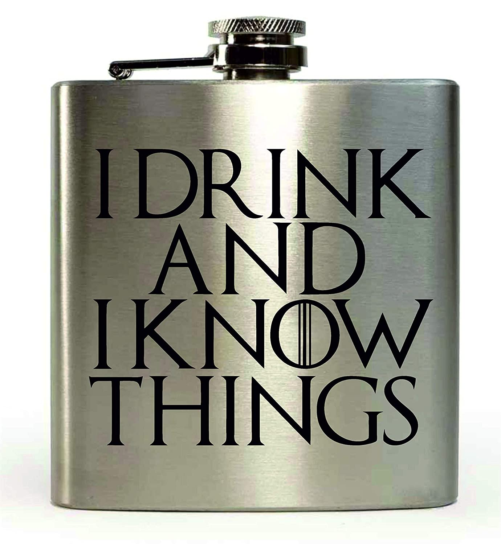 I Boisson et I Know Things Game of Thrones inspir/é 170,1/gram Flasque