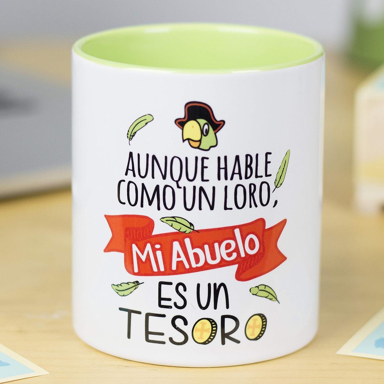 Amazon.com: La Mente es Maravillosa - Taza para Abuelo y ...