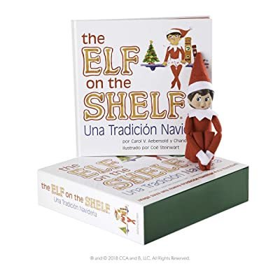 Elf on The Shelf EOTS Girl Light Spanish Doll: Toys & Games