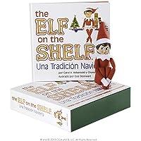 The Elf on the Shelf Libro El Elfo en la Plataforma para Niña, Español