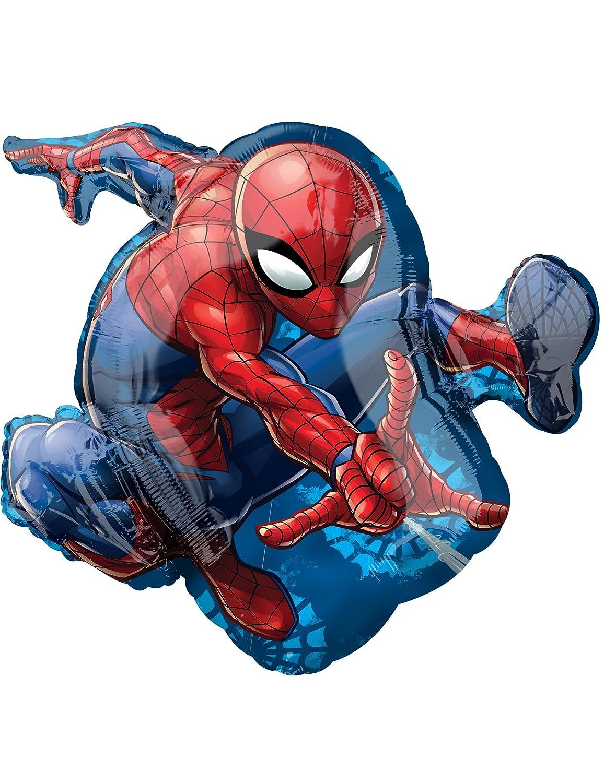 COOLMP - Lote de 6 Globos de Aluminio Spiderman 43 x 73 cm ...