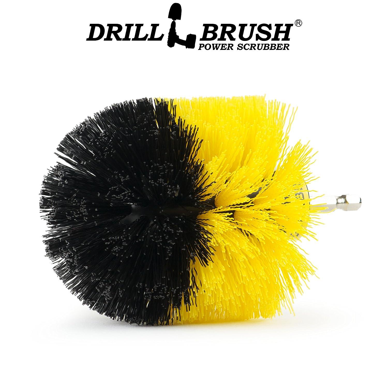 Drill Power Scrubber Perforar cepillo Inal/ámbrico