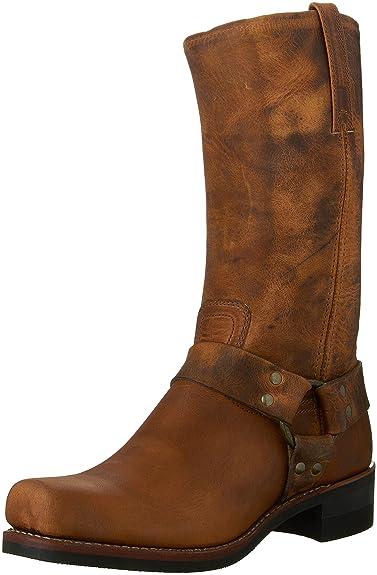 Frye Harness 8R, Boots femme - Noir (Blk), 40 EU (7 UK, 9 US)Frye
