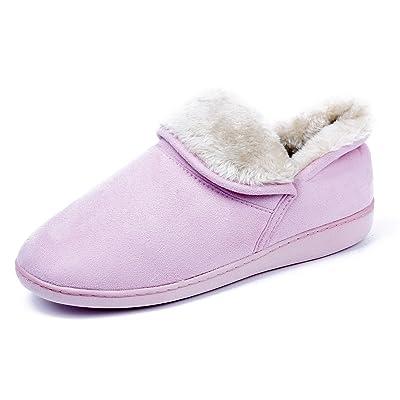 AgeeMi Shoes Mujeres Pantuflas Plano Suede Unisex Adulto Zapatillas