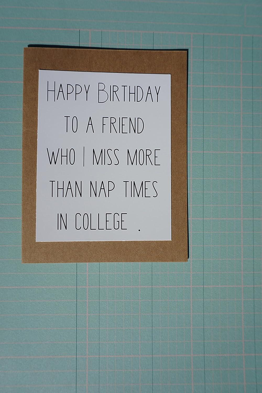 Happy Birthday Nap Love Funny greeting card