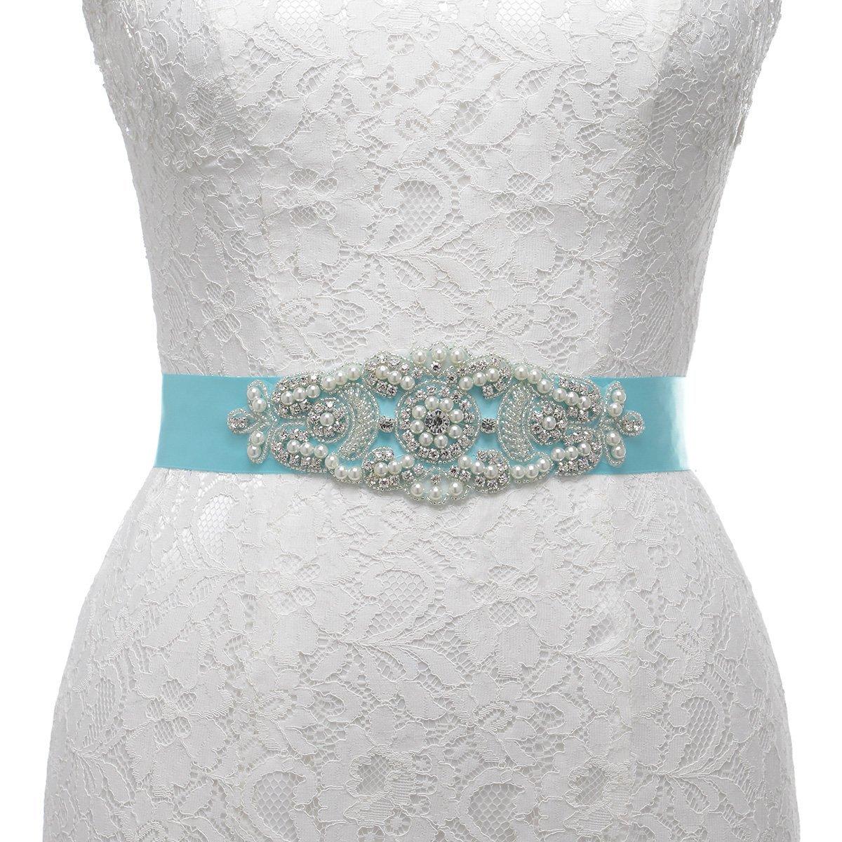 Topwedding ACCESSORY レディース B01FVWL1OK (I)Mint blue