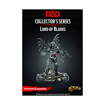 Dungeons & Dragons Eberron Minitures Lord of Blades Fig: Toys & Games
