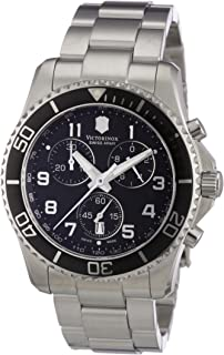 Victorinox Swiss Army Mens 241432 Maverick GS Stainless Steel Chronograph Watch