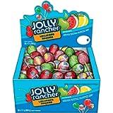 JOLLY RANCHER Bulk Candy Lollipops Assortment, Summer Candy, 50 Count (850 Gram)