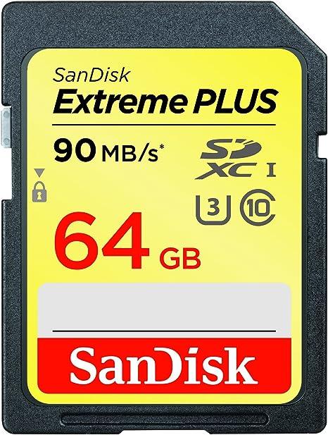 Amazon.com: SanDisk Extreme Plus Tarjeta de memoria SDHC UHS ...