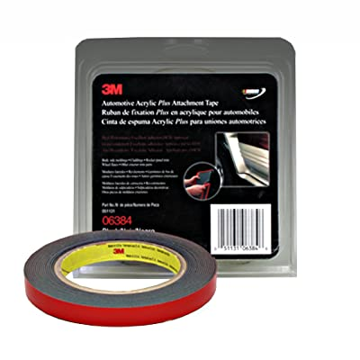 3M 06384 Automotive Acrylic Plus Attachment Tape: Automotive