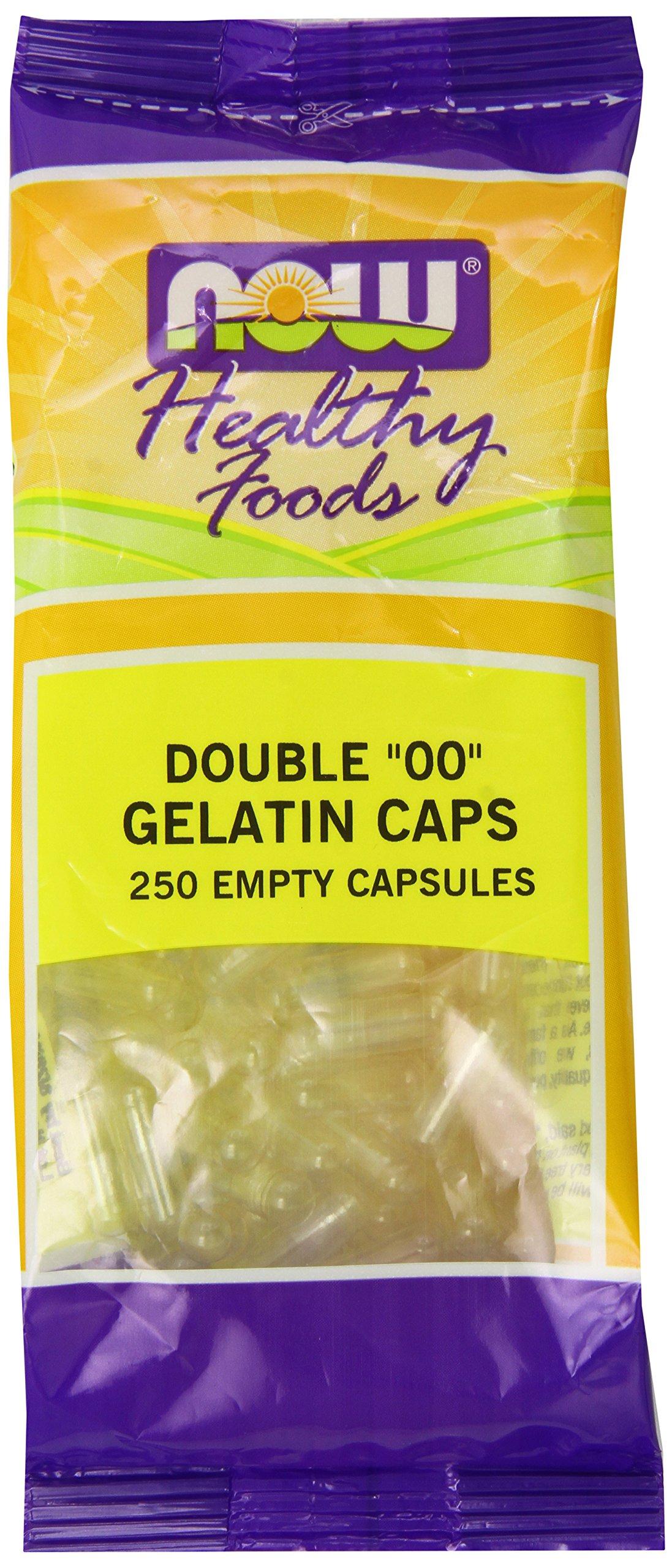 Now Foods '00' Gel Capsules, 250 Count
