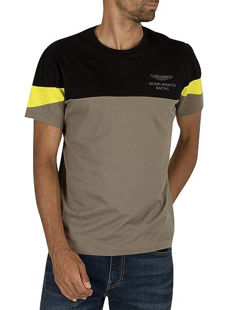 clearance sale unique design best sale Hackett London Men's Amr Str SLV Tee T-Shirt: Amazon.co.uk: Clothing