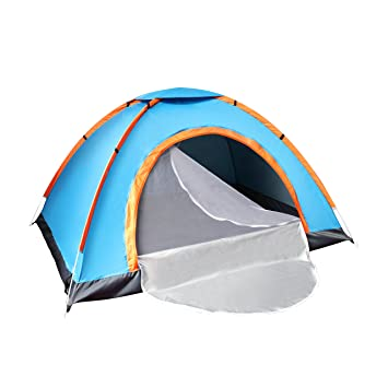 Techcell 2 Seconds Open Pop Up Throw Tent 2 Person Tent Hiking Fast Set-Up  sc 1 st  Amazon.com : pop up waterproof tent - memphite.com