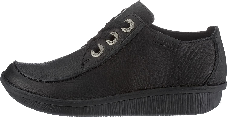 Clarks Funny Dream black schwarz Damenschuhe Sneaker - Schnürschuh 20 m