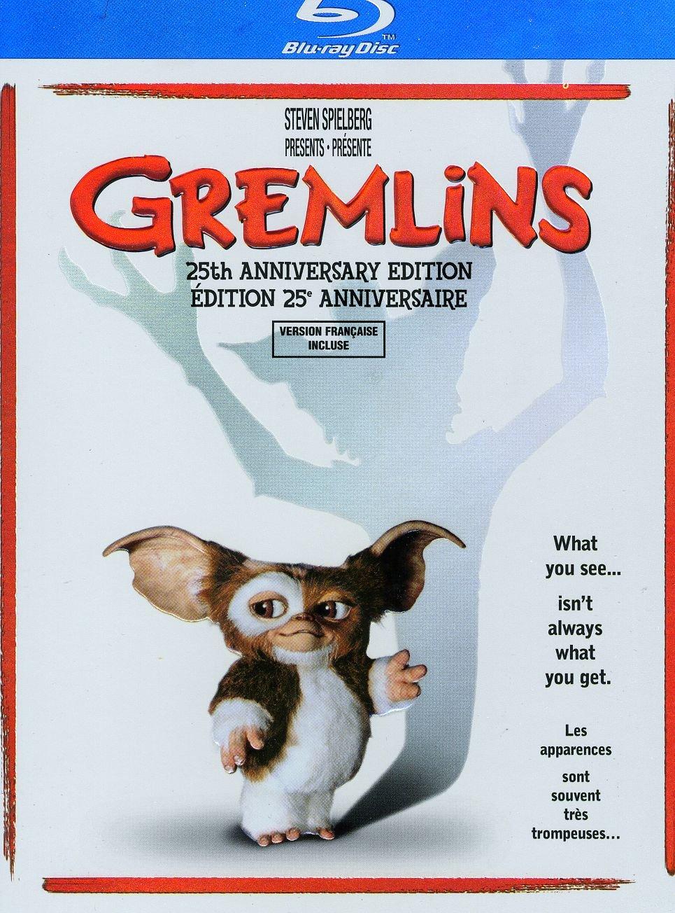 Gremlins (25th Anniversary Edition) (Bilingual) [Blu-ray] Zach Galligan Phoebe Cates Hoyt Axton Jonathan Banks