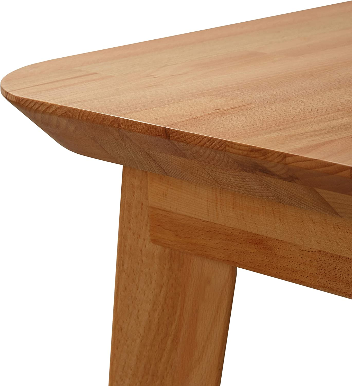 Krok Wood Dining Table Paris Beech 75x50x75 cm