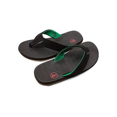 abbecd36c Amazon.com  Volcom Men s Victor Flip Flop Sandal  Shoes