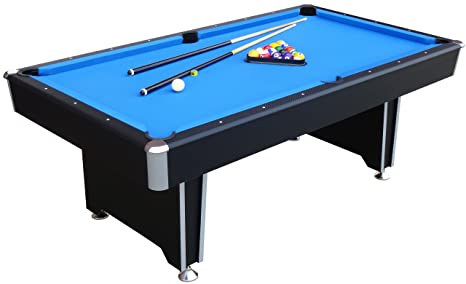 Fantastic Mightymast Leisure 7Ft Callisto Professional Deluxe American Pool Table With Blue Cloth All Accessories Download Free Architecture Designs Xaembritishbridgeorg