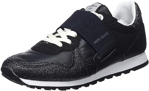 Pepe Jeans Verona W New Elastic, Zapatillas para Mujer: Amazon.es: Zapatos y complementos