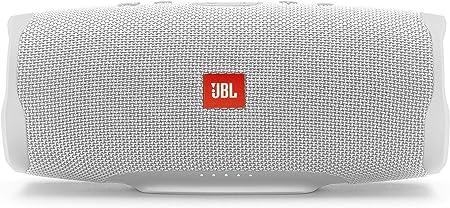 Jbl Charge 4 Bluetooth Lautsprecher In Weiß Wasserfeste Portable Boombox Mit Integrierter Powerbank Mit Nur Einer Akku Ladung Bis Zu 20 Stunden Kabellos Musik Streamen Audio Hifi
