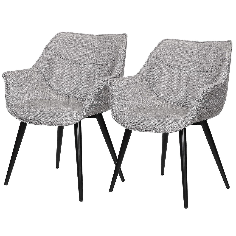 eSituro DC51 - Juego de 2 sillas de Comedor para Cocina ...