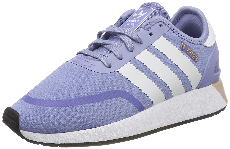 adidas Damen Iniki Runner CLS Fitnessschuhe, Pink  42 EU|Blau (Azutiz / Ftwbla / Ftwbla 000)
