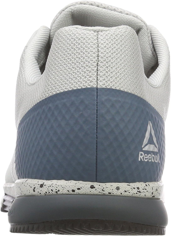 Reebok Herren Crossfit Speed Tr 2.0 Fitnessschuhe, NeongrünWeißSchwarzSilber
