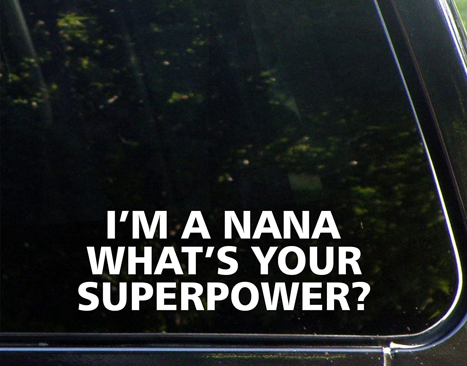 I/'m a Grandma What/'s Your Superpower 2 PCS Decals 20 Colors To Choose From