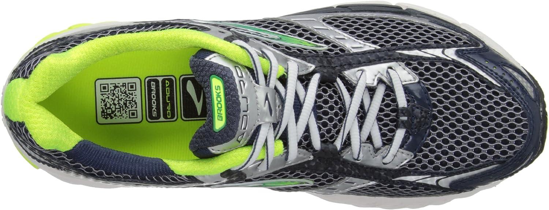 Brooks Aduro, Zapatillas de Running para Hombre, Plata-Midnight/Silver/Nightlife, 41 EU: Amazon.es: Zapatos y complementos