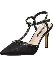 7027637b XTI 35030, Zapatos de tacón con Punta Cerrada para Mujer