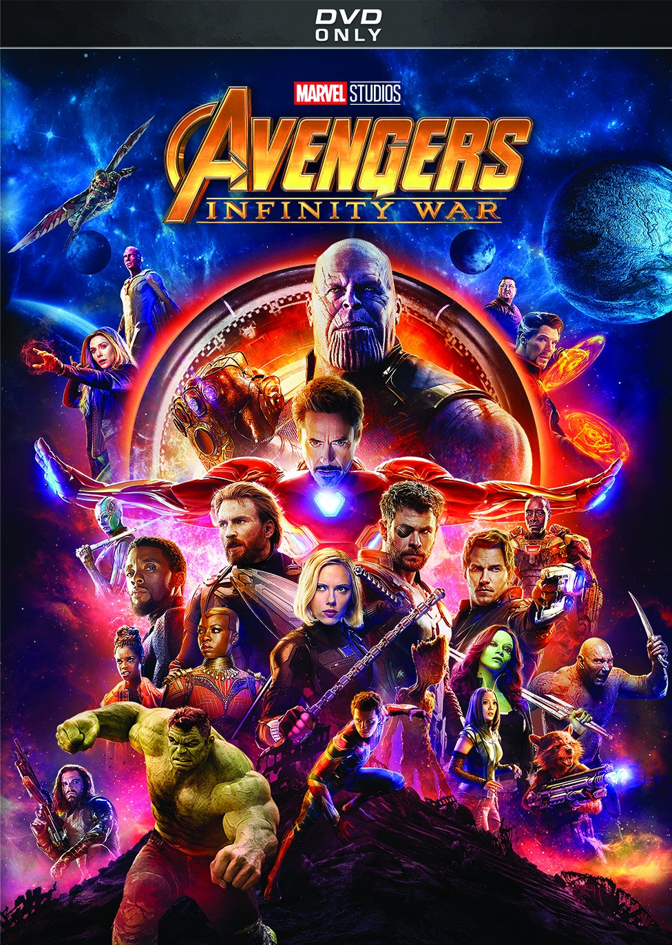 DVD : Avengers: Infinity War (Dolby, AC-3, Dubbed, Subtitled)