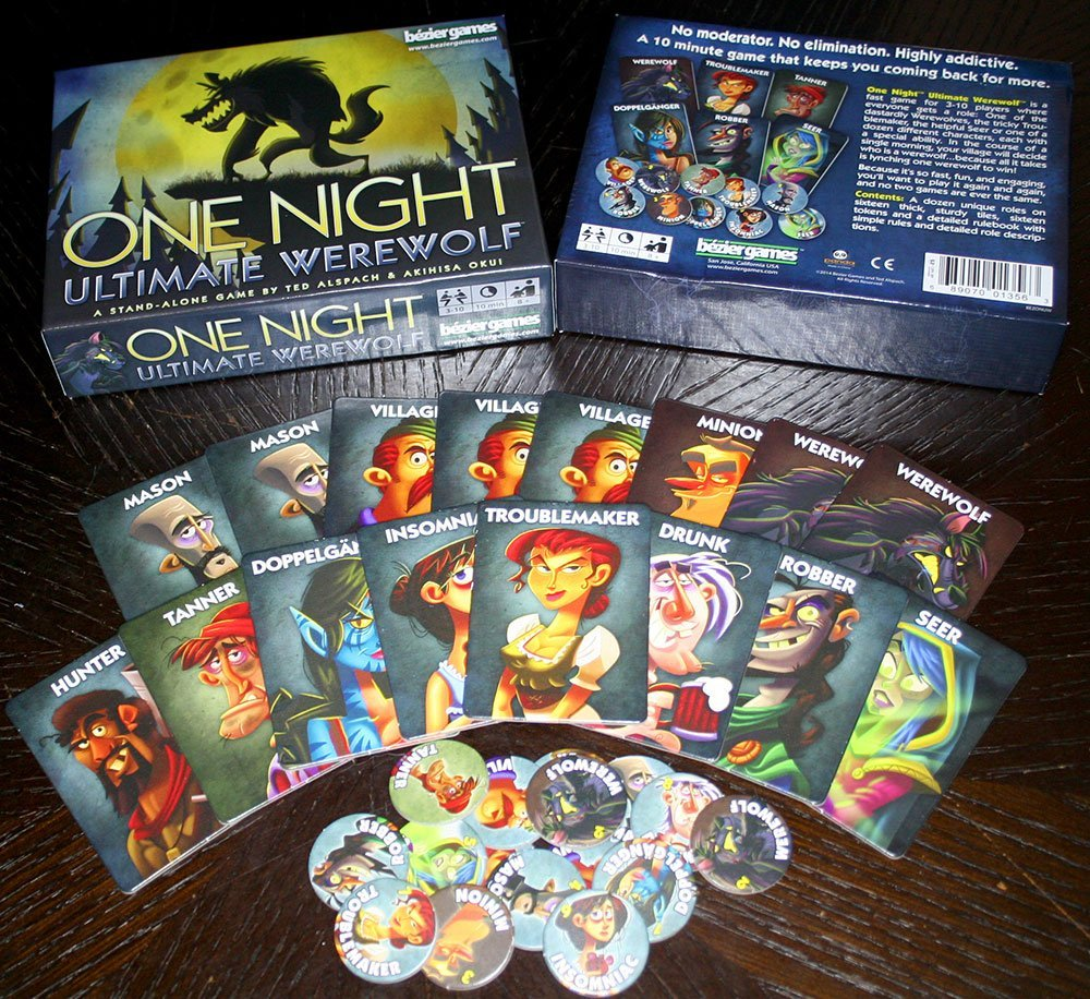Bezier Games One Night Ultimate Werewolf by Bezier Games (Image #4)