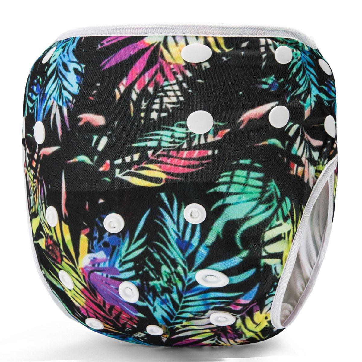 Storeofbaby Reusable Swim Diapers Waterproof Cover Swimming Pants Unisex Baby 0-3 Years