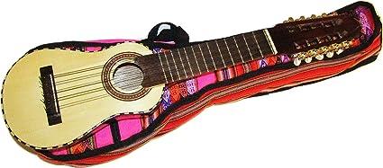 Funda para guitarra profesional peruana Charango incluida, color rosa: Amazon.es: Instrumentos musicales
