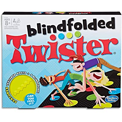 Blindfolded Twister Game: Toys & Games