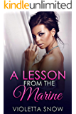 A Lesson from the Marine: A Daddy Dom Dubcon Romance (Tease Me Book 6)